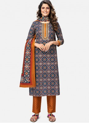 Groovy Cotton Readymade Suit