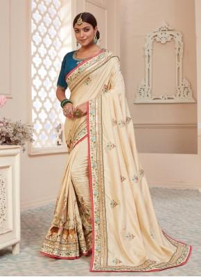 Haute Patch Border Silk Classic Designer Saree