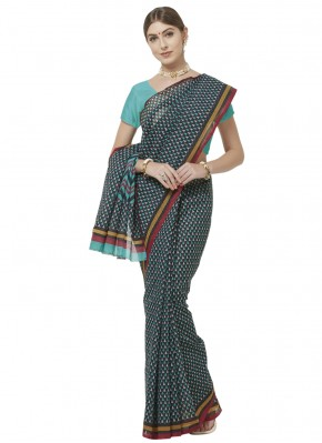 Honourable Abstract Print Printed Saree