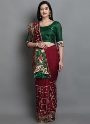Hypnotic Patola Print Designer Traditional Saree
