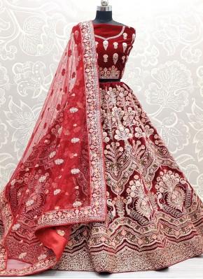 Hypnotic Sequins Velvet Lehenga Choli