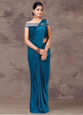 Hypnotizing Fancy Sangeet Designer Saree
