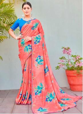 Ideal Cotton Silk Party Printed Saree
