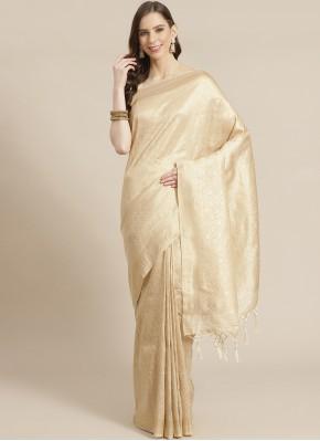 Ideal Weaving Ceremonial Designer Traditional Saree