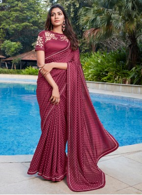 Immaculate Cotton Party Classic Saree