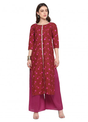 Immaculate Embroidered Poly Silk Kurta