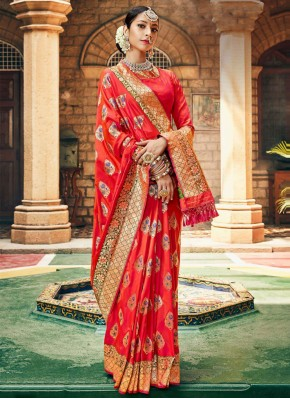 Imperial Weaving Silk Traditional Designer Saree