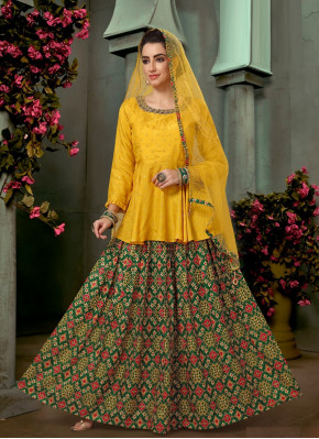 Imposing Silk Readymade Lehenga Choli