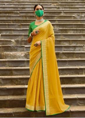 Impressive Casual Saree for Ceremonial