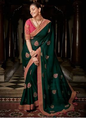 Impressive Silk Weaving Traditional Saree