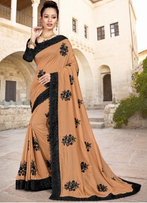Incredible Embroidered Party Trendy Saree
