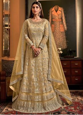 Incredible Floor Length Anarkali Salwar Suit For Engagement