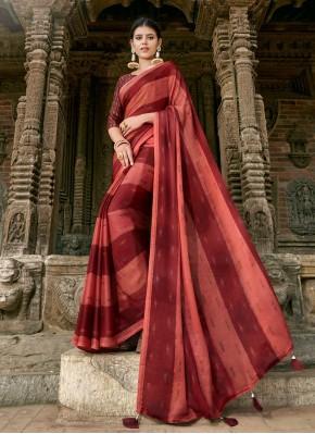 Incredible Printed Contemporary Saree