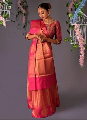 Incredible Silk Designer Traditional Saree