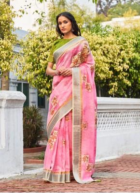 Innovative Weaving Classic Designer Saree