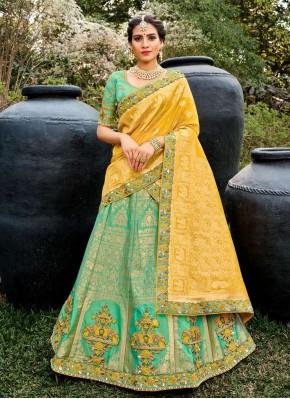 Integral Embroidered Bollywood Lehenga Choli