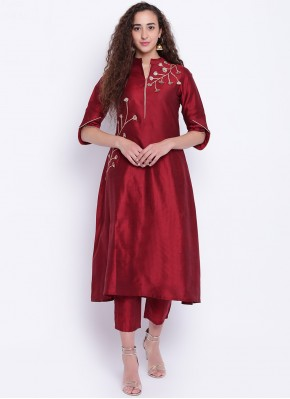 Integral Fancy Cotton Silk Party Wear Kurti