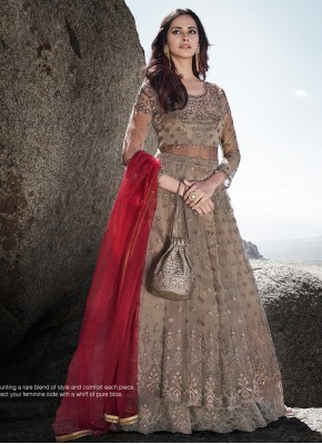Integral Resham Wedding Designer Lehenga Choli