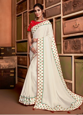 Intricate Silk Classic Saree