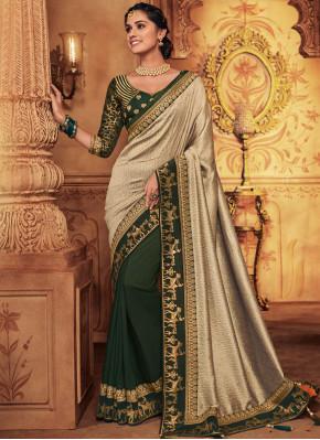 Intriguing Art Silk Bridal Classic Designer Saree