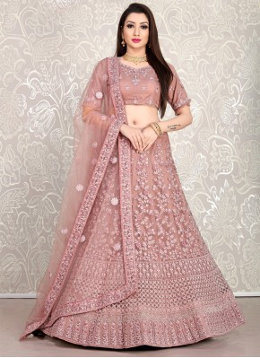 Intriguing Diamond Faux Crepe Lehenga Choli