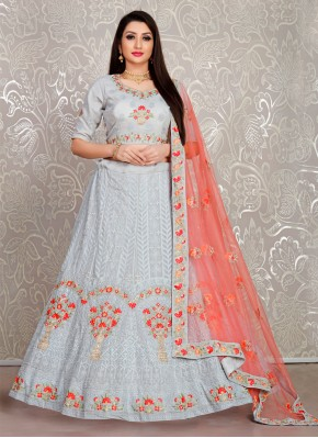 Intrinsic Embroidered Trendy Lehenga Choli
