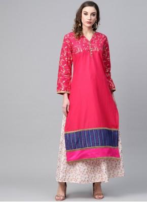 Intrinsic Pink Designer Kurti
