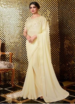 Invaluable Embroidered Prachi Desai Designer Traditional Saree