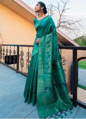 Invigorating Fancy Ceremonial Traditional Designer Saree
