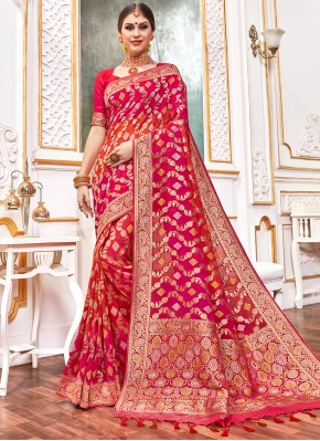 Irresistible Contemporary Style Saree For Party