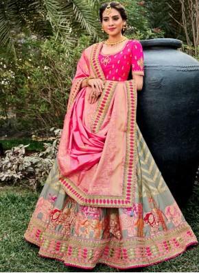 Irresistible Trendy Lehenga Choli For Ceremonial