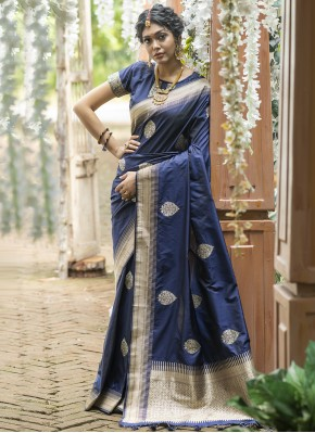 Irresistible Weaving Traditional Designer Saree
