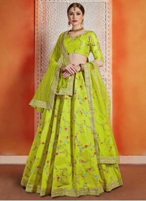 Jazzy Art Silk Designer Lehenga Choli