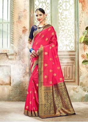 Jazzy Woven Banarasi Silk Designer Traditional Saree