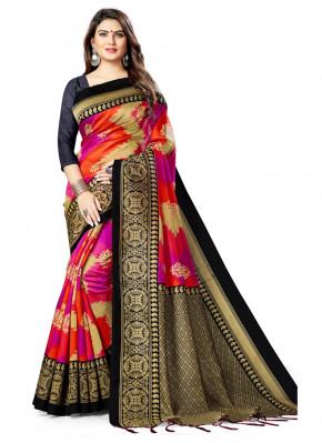 Latest Silk Saree For Festival