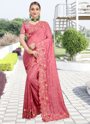 Lavish Silk Pink Traditional Saree