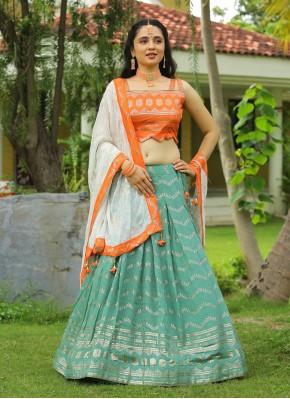Lively Designer Readymade Lehngha Choli