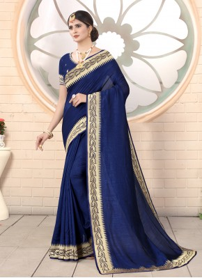 Lively Embroidered Classic Saree