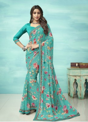 Lively Faux Georgette Casual Casual Saree