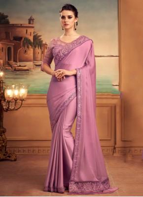 Lively Silk Engagement Designer Traditional Saree
