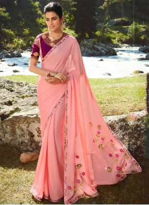 Lively Silk Party Classic Saree