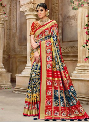 Lovable Embroidered Festival Designer Traditional Saree
