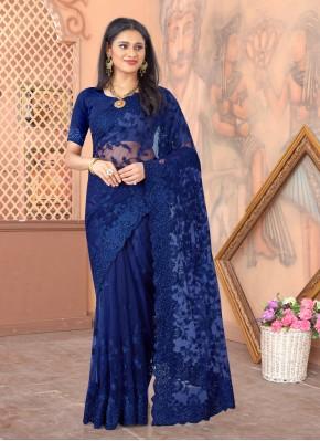 Lovable Resham Sangeet Designer Saree