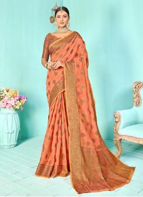 Lovable Silk Weaving Designer Traditional Saree