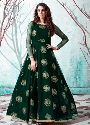 Lovely Net Festival Designer Gown