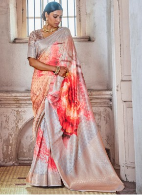 Magnetize Silk Festival Designer Traditional Saree