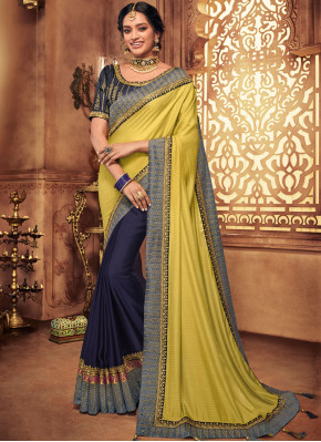 Magnificent Embroidered Designer Traditional Saree