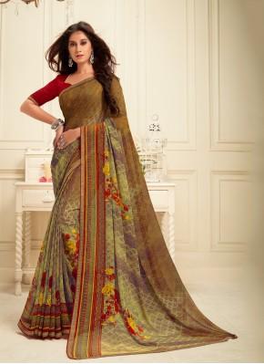 Magnificent Multi Colour Party Classic Saree
