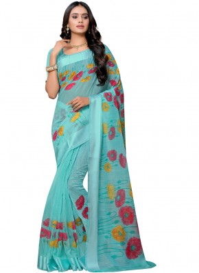 Majestic Cotton Festival Printed Saree