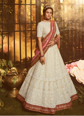 Majesty Resham Engagement Designer Lehenga Choli